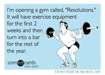All too true. I expect my gym to be way busy in January.