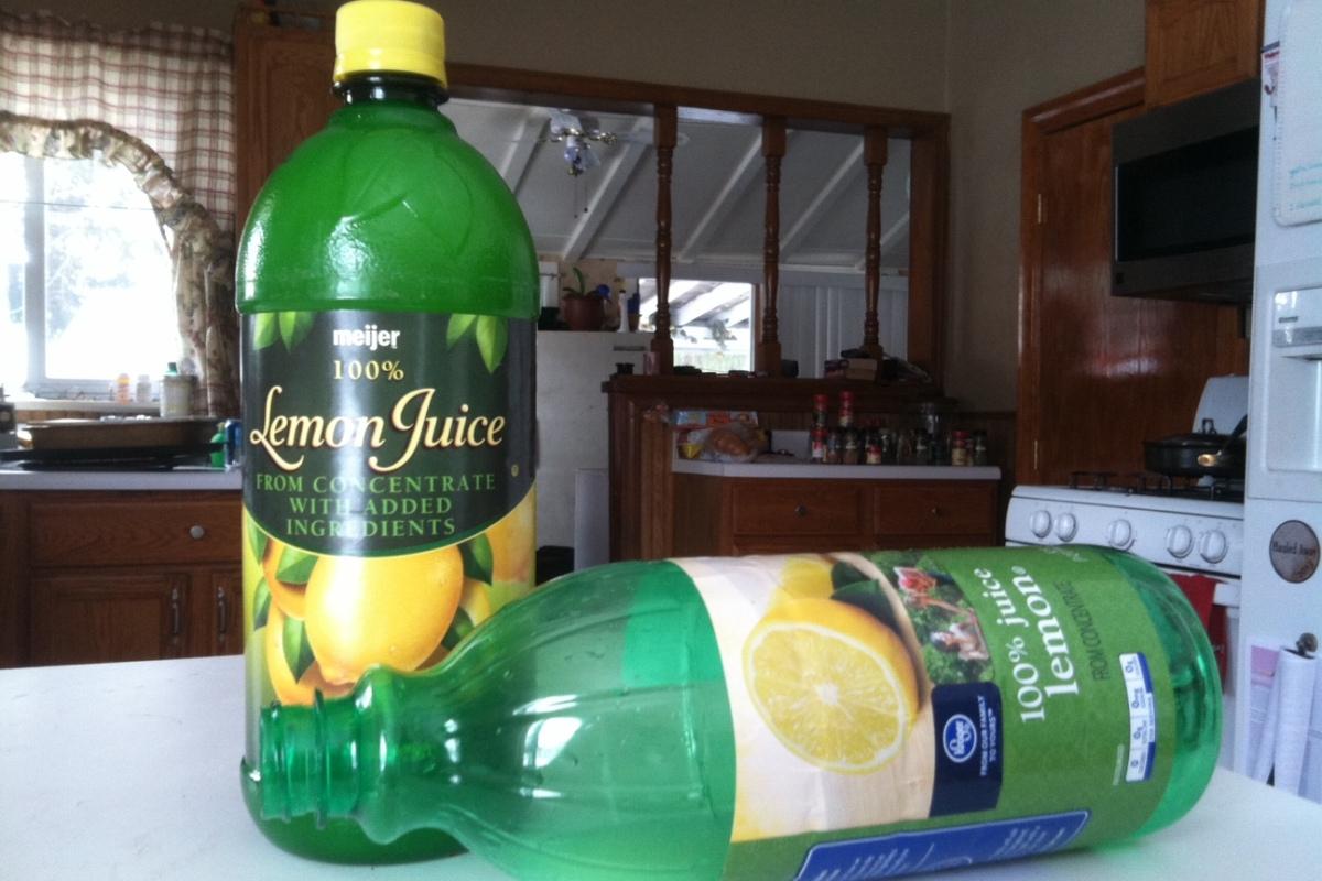 I go through lemon juice pretty quickly.
