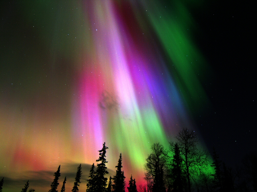 Aurora borealis in Finland. (Creative Commons)