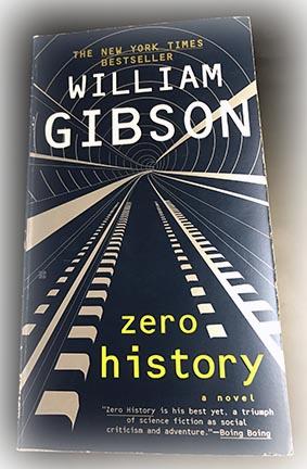 Cover of William Gibson's Zero History