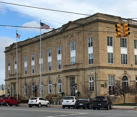 The federal courthouse in Bay City, Michigan