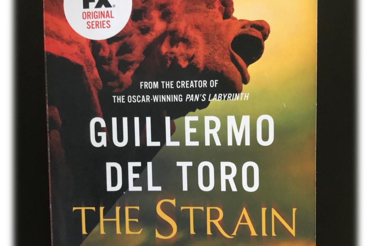 """Cover of Guillermo del Toro and Chuck Hogan's """"The Strain"""""""