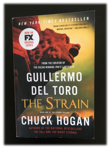 "Cover of Guillermo del Toro and Chuck Hogan's ""The Strain"""